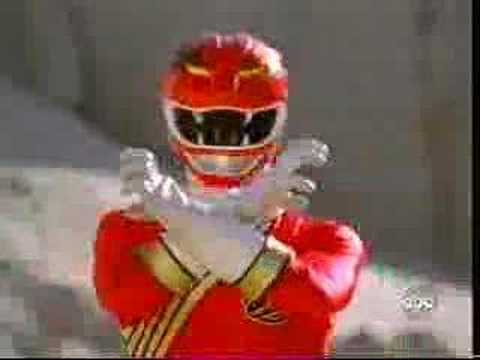POWER RANGERS FOREVER RED VIDEO