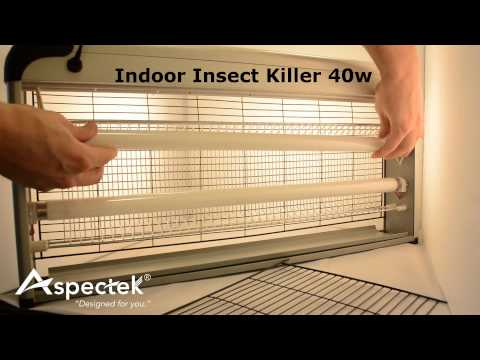 How to Replace Bulb of Indoor Insect Killer 40w by Aspectek