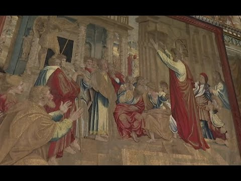 Raphael's tapestries: Church artistry