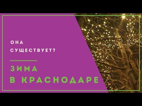 Зима в Краснодаре | Климат на Юге России | Где снег?