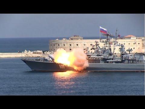 Неудачный запуск ракеты Севастополь с СКР Ладный Full HD