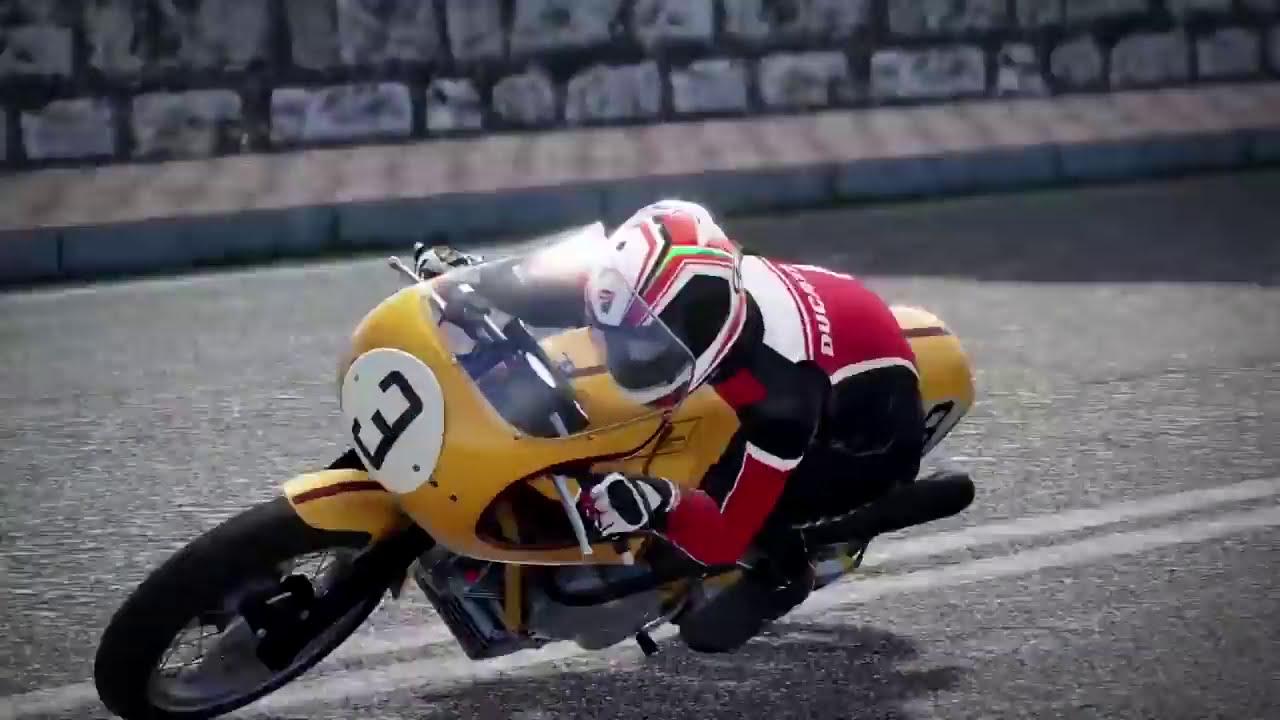 ducati 90th anniversary - gameplay ducati 750 ss - youtube