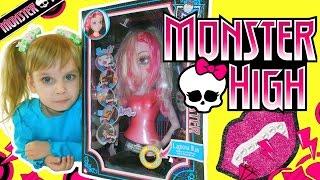 Monster High. Игра для девочек монстр хай: прическа, макияж, песня, танец. Монстер хай Дракулаура