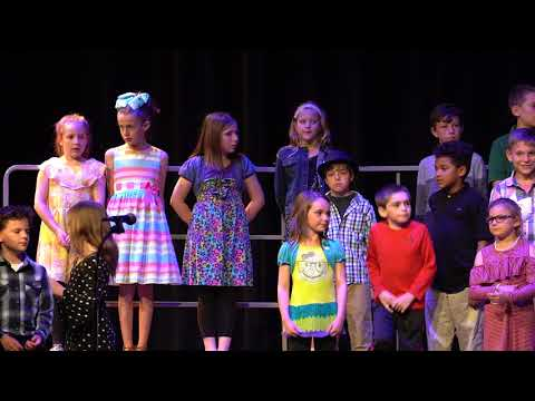 Bangor West Elementary  Music Program 2018 1st, 3rd and 5th Grade