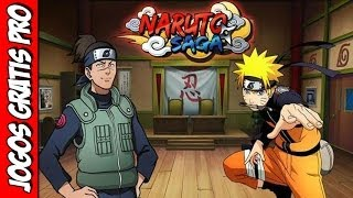 Naruto Saga Gameplay [PTBR] - Jogos Gratis Pro