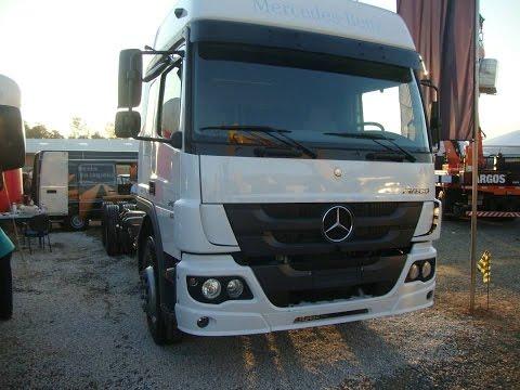 Tutorial #03: Semi-Pesado Mercedes Benz. Atego 2430 Powershift 6x2  Euro 5