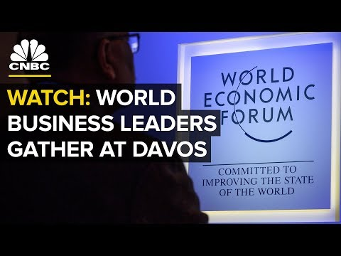 WATCH: Investing icons and CEOs gather at World Economic Forum in Davos — Tuesday, Jan. 22 2019
