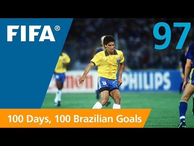 100 Great Brazilian Goals: #97 Careca (Italy 1990)