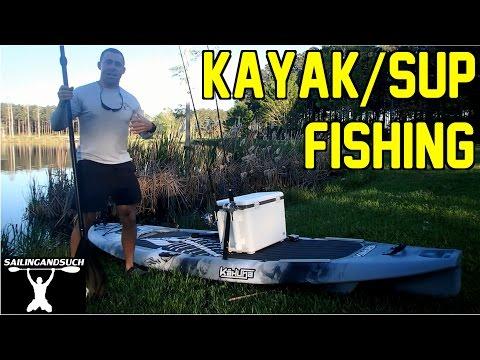 1st Fishing Trip on the Kahuna SUP/Kayak