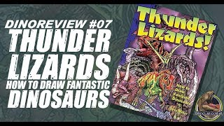 Review #7 - Thunder Lizards: How To Draw Fantastic Dinosaurs
