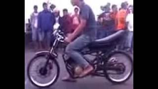 Drag bike liar jokinya cewe gila!!!