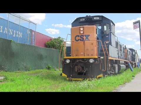 CSX Hunts Point Market Train Treks The Bronx