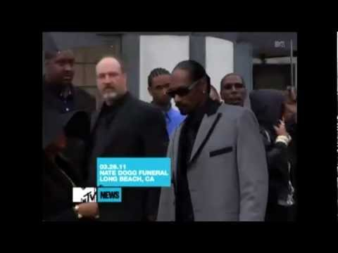 Snoop Dogg,Warren G,Dr.Dre and Daz Arrive To Nate Dogg's Funeral