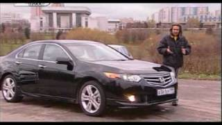 062 Honda Accord против VW Passat / Mazda 6 - Наши тесты 2008