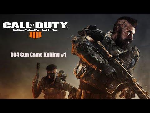 Black Ops 4 Gun Game Knifing Rage 1 Youtube