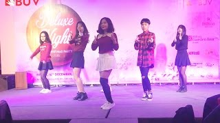 [Performance] 161216 PLAYING WITH FIRE + TT by BUV Dance Club ( BUV Christmas Party: Deluxe Night)