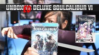 Unboxing SoulCalibur VI Deluxe Edition for PS4 | Pre-order Bonus Collector's Talim Figure
