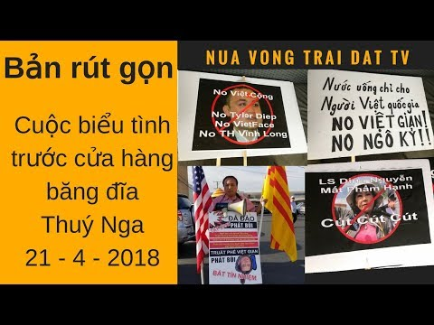 Short Version (Bản rút gọn) : Cuộc biểu tình chống đài Vietface TV ngày 21/4/2018