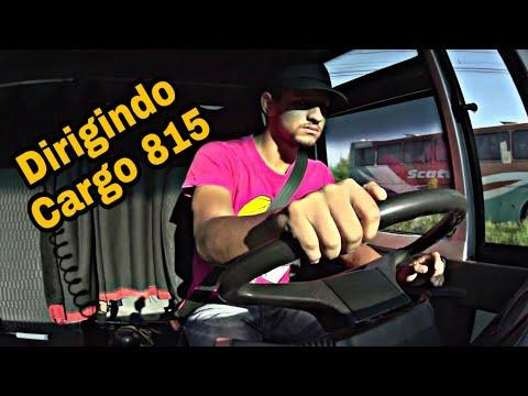 DIRIGINDO CAMINHAO/FORD CARGO 815 ‹ André Santos ›