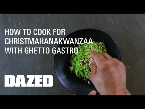 How to cook for Christmahanakwanzaa with Ghetto Gastro - YouTube