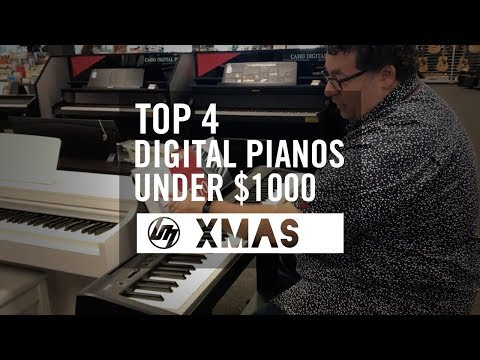Top 4 Digital Pianos under $1,000 for Christmas 2017 | Better Music