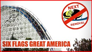 Six Flags Great America's Next Ride Removal? American Eagle? V2?