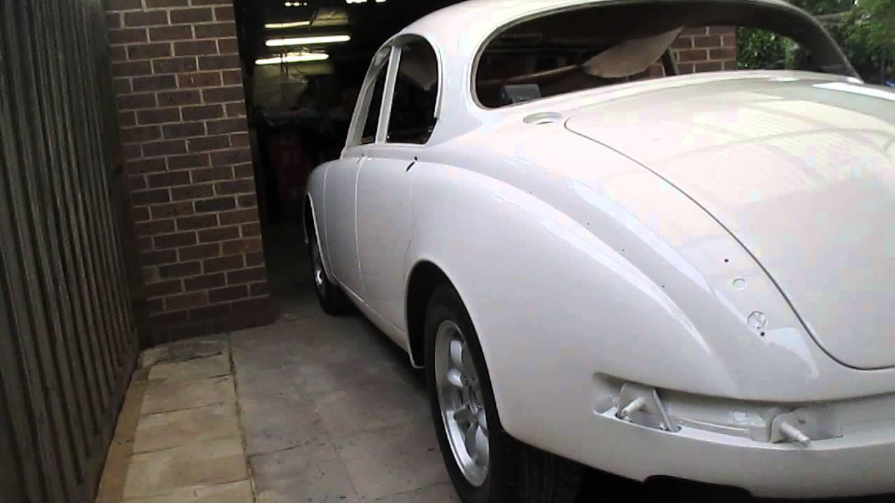 1968 mk2 jaguar back from paint shop