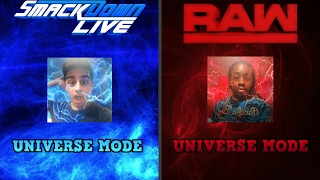 WWE 2K17 UNIVERSE MODE DRAFT LIVE!!! | Khairo's TV & Ali Hussain WWE 2K17 DRAFT!!!