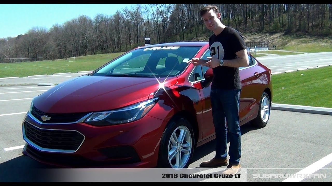 review 2016 chevrolet cruze lt youtube. Black Bedroom Furniture Sets. Home Design Ideas