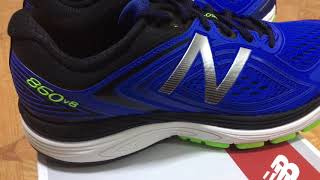 New Balance 860V8 Running Shoes Men's Picture Review