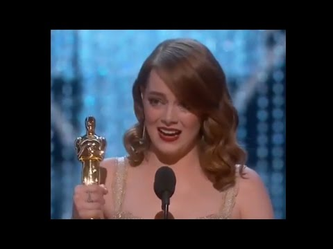 Thumbnail: Emma Stone Oscars Speech for Best Actress Win | Oscars 2017