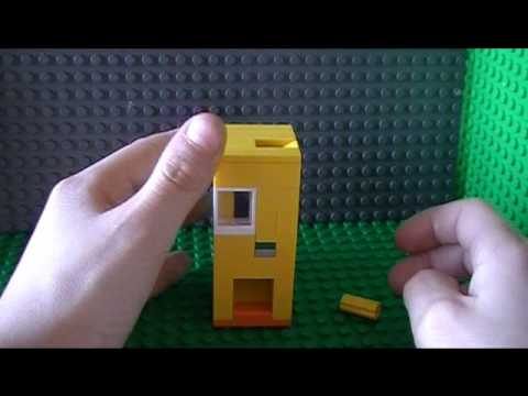 lego candy machine that takes money instructions