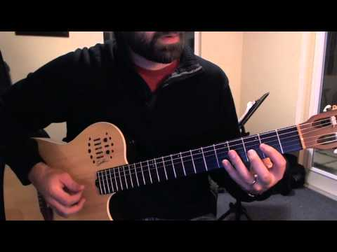 Here I Am by Soja guitar lick slowed down