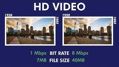 Video Bit Rate: An Easy Overview (2020)