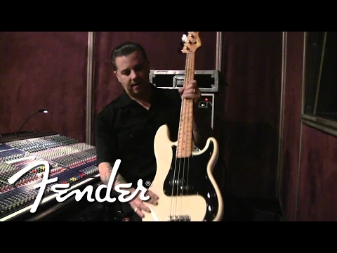Rancid's Matt Freeman Shows us his New Signature Model | Fender