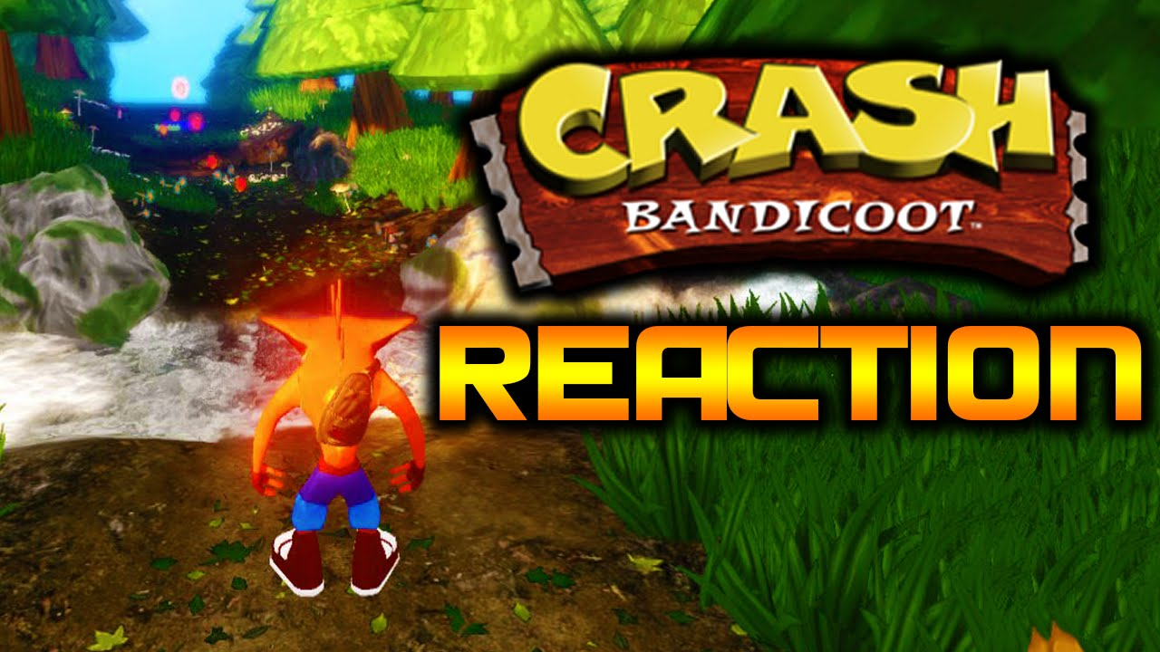 Crash Bandicoot PS4 Remastered Trilogy Reaction At E3 2016