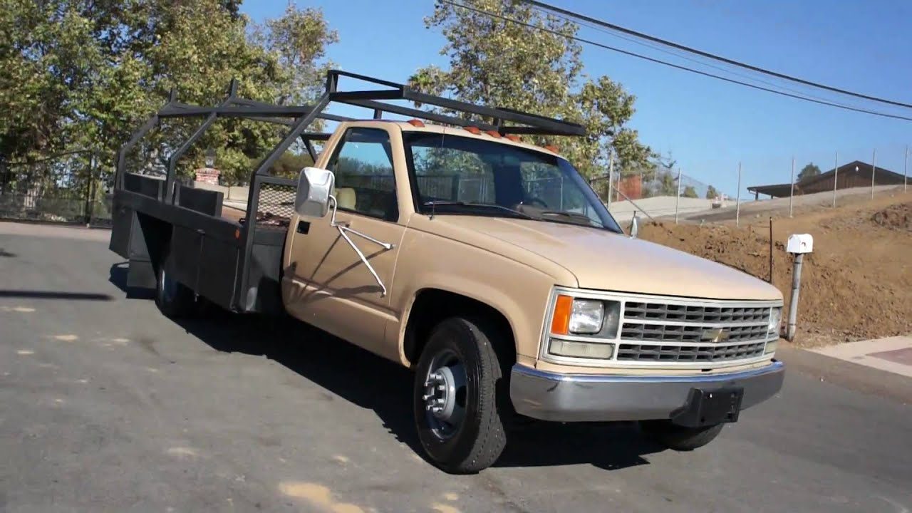 Rare Chevy Trucks