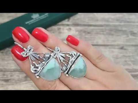 💦Новая коллекция💦 Потрясающие серьги ручной работы из серебра