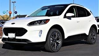 2020 Ford Escape Titanium: Better Than The Lincoln Corsair???