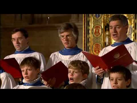 Hereford Cathedral Choir - God so loved the world (Stainer)