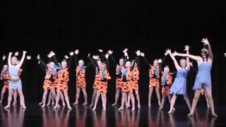 Meet the Flintstones - Opening Number of Next Step Dance Studio's 2013 Recital