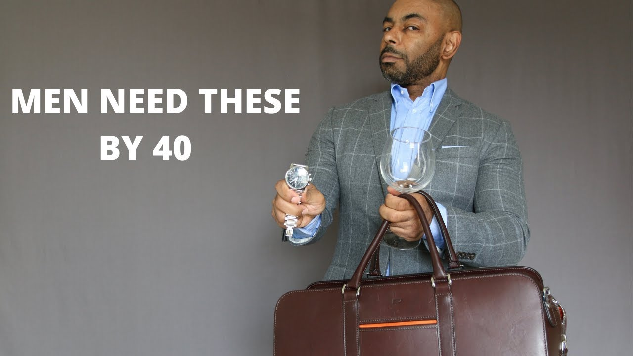 15 Things Every Man Should Own By 40