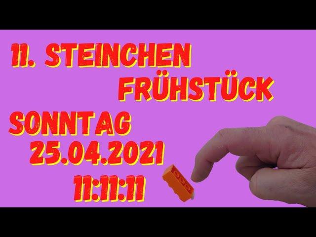 Jubiläum oder doch Schnapszahl - 11. Steinchen Frühstück - mit Gewinnspiel!
