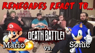 Renegades React to... Death Battle - Mario vs. Sonic