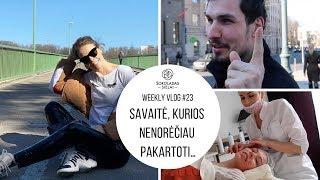 WeeklyVlog 23: SAVAITĖ, KURIOS NENORĖČIAU PAKARTOTI…