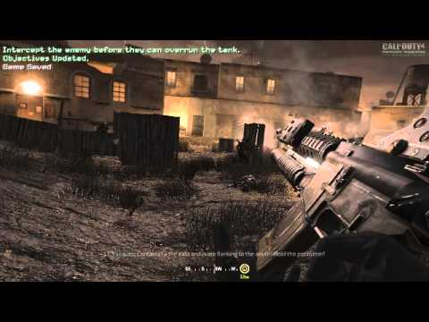 call of duty 4 demo jouable