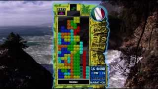 Tetris Evolution Xbox 360 Marathon High Score starring lolotex