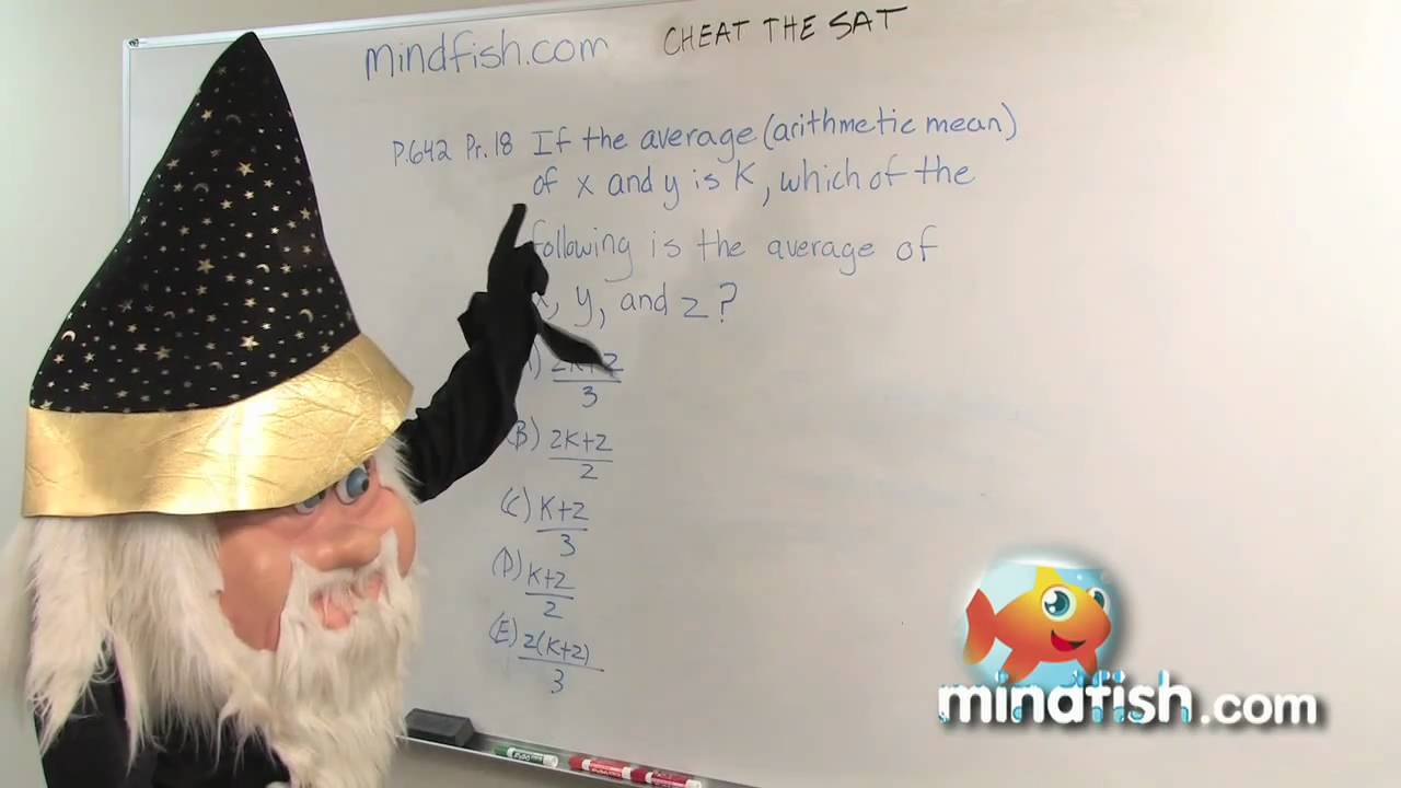 SAT Math Tips, Tricks, and Strategies: Cheat The SAT: Official SAT ...