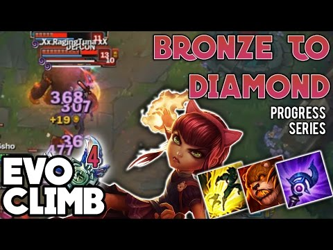 Carry Low Elo Season 7 by Practicing these Fundamentals | Bronze to Diamond s7 | EVO Progress #4