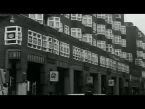 1962: De krotten en krotwoningen van Amsterdam - met de Jordaan, Lindengracht  - oude filmbeelden